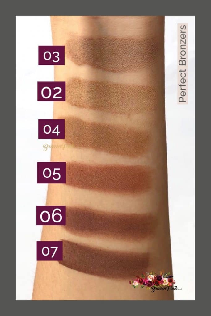 Perfect Bronzers, lighter skin, LimeLife by Alcone, Dynamic by Danessa Myricks, creamy contouring, Jean brazenfaithllc.com, #brazenfaithllc, #limelifebyalcone, #perfectbronzers ,#deepbronzers