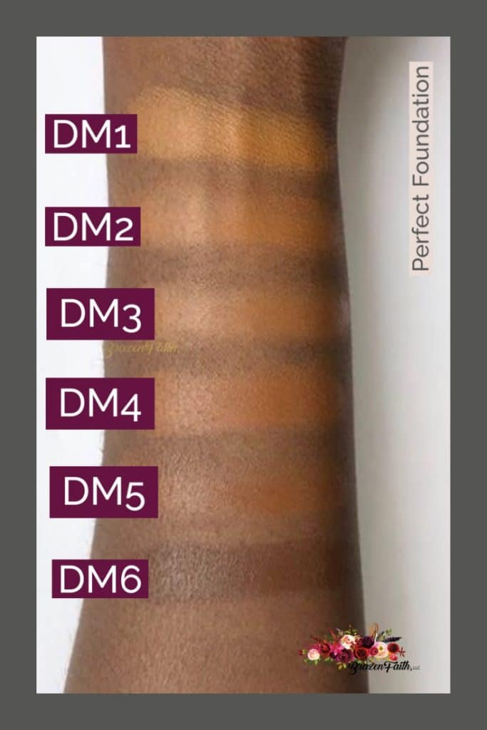 Perfect Foundation on Deeper Skin tone, LimeLife by Alcone, Dynamic, Danessa Myricks, Brazen Faith LLC, Jean Lucas
