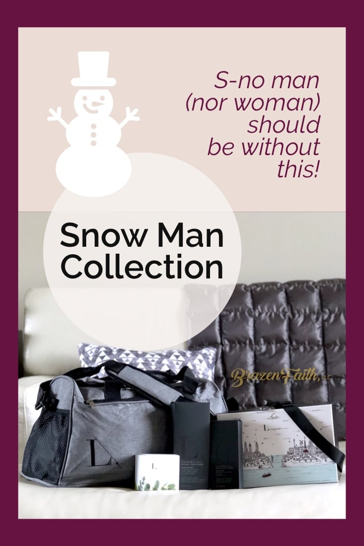 LimeLife by Alcone Snow Man Collection, Holiday 2018, Snow man nor woman should be without this, Jean Lucas, Brazen Faith LLC