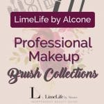 New LimeLife by Alcone Collections: Pro Makeup Brushes