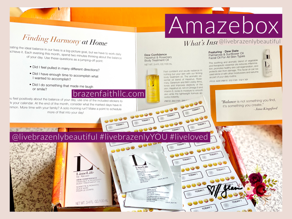 LimeLife by Alcone Subscription Sept 2020 Amazebox, Jean Lucas Independent Beauty Guide, photo credit client K Kilts, Limelife referral, Limelife affiliate, Limelife discount, #livebrazenlybeautiful #livebrazenlyYOU #liveloved
